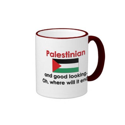 Good Looking Palestinian Ringer Coffee Mug