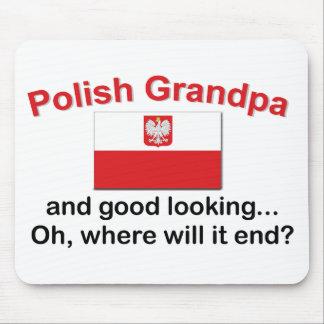 Good Looking Polish Grandpa Mouse Pad