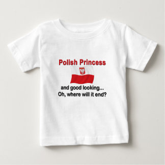 Good Looking Polish Princess Baby T-Shirt