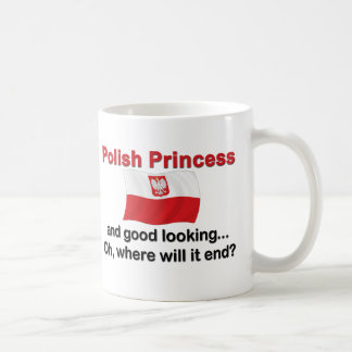 Good Looking Polish Princess Coffee Mug