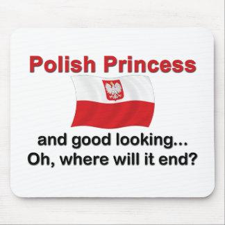 Good Looking Polish Princess Mouse Pad