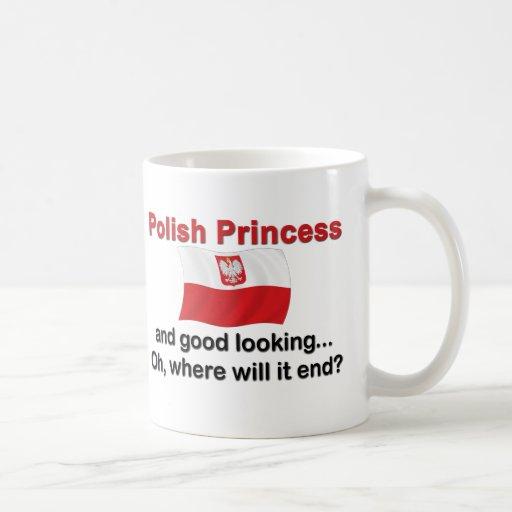 Good Looking Polish Princess Coffee Mug