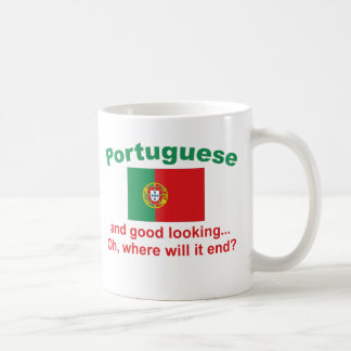 Good Looking Portuguese Coffee Mug
