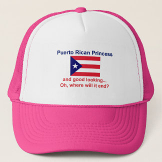 Good Looking Puerto Rican Princess Trucker Hat