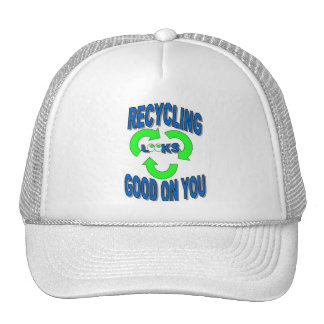 Good Looking Recycling Hat