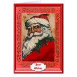 Good looking Santa Greeting Card