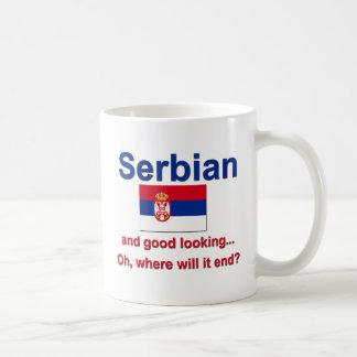 Good Looking Serbian Coffee Mug