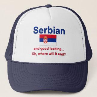 Good Looking Serbian Trucker Hat