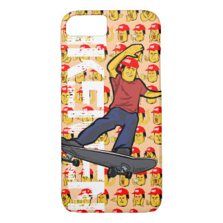GOOD LOOKING SK8 GUY iPhone case