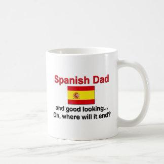 Good Looking Spanish Dad Coffee Mugs