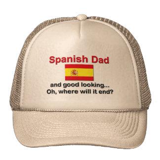 Good Looking Spanish Dad Trucker Hat