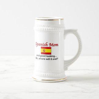 Good Looking Spanish Mom Beer Stein