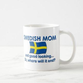 Good Looking Swedish Mom Coffee Mug