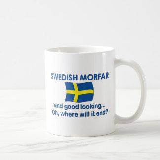 Good Looking Swedish Morfar (Grandpa) Coffee Mug