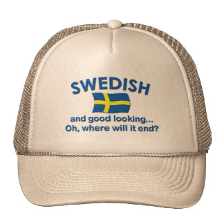 Good Looking Swedish... Trucker Hat