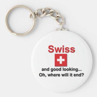 Good Looking Swiss Keychain
