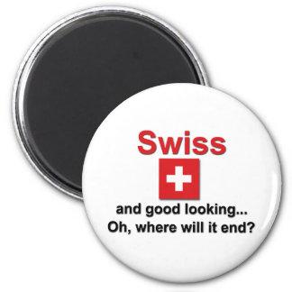 Good Looking Swiss Magnet