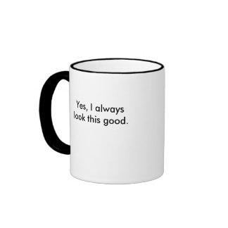 Good Looking You Ringer Mug