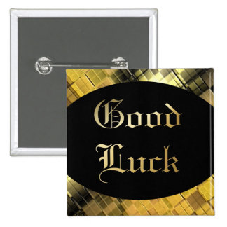 Good Luck 2 Inch Square Button