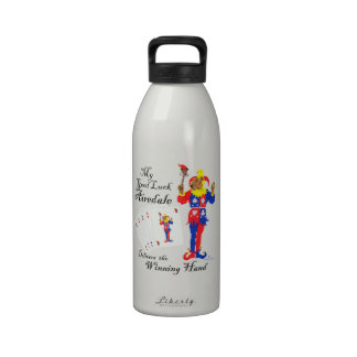 Good Luck Airedale Terrier Drinking Bottle
