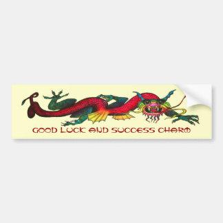 Good Luck and Success Charm Bumper Sticker