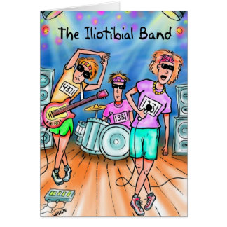 Good Luck Card for Runners - Iliotibial Band