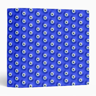 Good Luck Charms against Evil Eye Pattern 3 Ring Binder