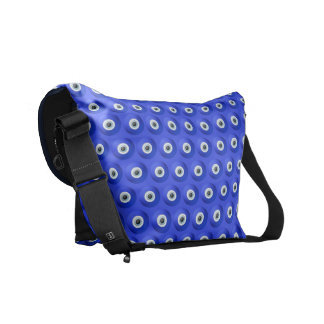 Good Luck Charms against Evil Eye Pattern Courier Bag