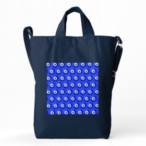 Good Luck Charms against Evil Eye Pattern Duck Bag