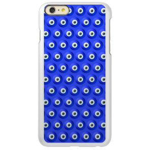 Good Luck Charms against Evil Eye Pattern Incipio Feather Shine iPhone 6 Plus Case