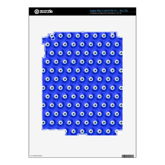 Good Luck Charms against Evil Eye Pattern iPad 3 Skins