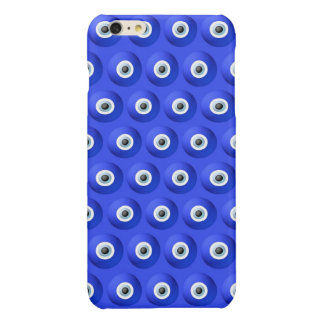 Good Luck Charms against Evil Eye Pattern Glossy iPhone 6 Plus Case