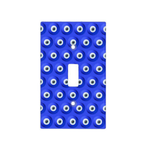 Good Luck Charms against Evil Eye Pattern Light Switch Cover