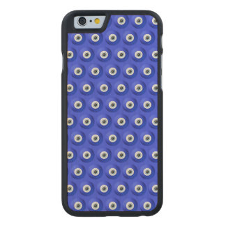 Good Luck Charms against Evil Eye Pattern Carved® Maple iPhone 6 Slim Case