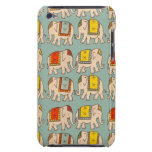 Good luck circus elephants cute elephant pattern iPod touch cover