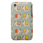 Good luck circus elephants cute elephant pattern iPhone 3 cover