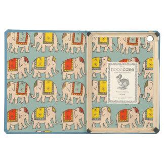 Good luck circus elephants cute elephant pattern iPad air cover