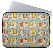 Good luck circus elephants cute elephant pattern computer sleeve