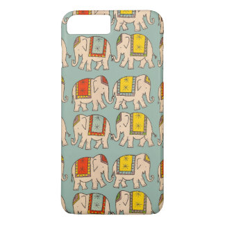 Good luck circus elephants cute elephant pattern iPhone 8 plus/7 plus case