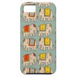 Good luck circus elephants cute elephant pattern iPhone SE/5/5s case