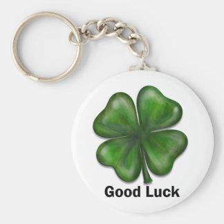 Good Luck Clover Keychain