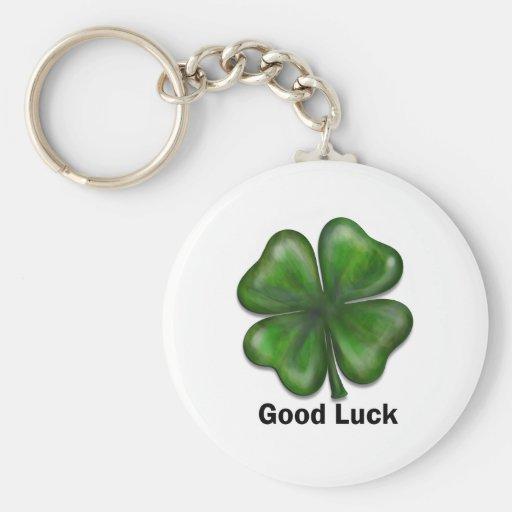 Good Luck Clover Key Chain