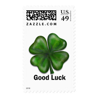 Good Luck Clover Stamps