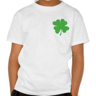 Good Luck Cloverleaf - Shamrock - trefoil Tee Shirts