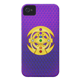 Good Luck Coptic Styled Cross iPhone 4 Cases