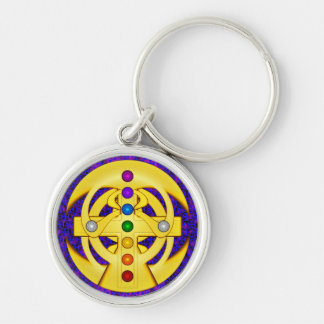 Good Luck Coptic Styled Cross Keychain