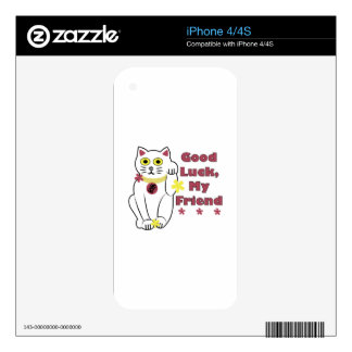 Good Luck Decals For iPhone 4S