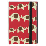 Good luck elephants cherry red cute nature pattern cases for iPad mini