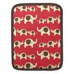 Good luck elephants cherry red iPad iPad 2 sleeve Sleeve For iPads