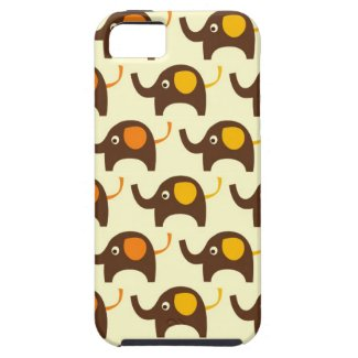 Good luck elephants kawaii cute nature pattern iphone 5 covers